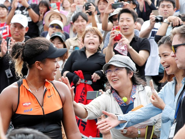 Tennis star Naomi Osaka gives up her U.S. citizenship to play for Japan in Tokyo Olympics