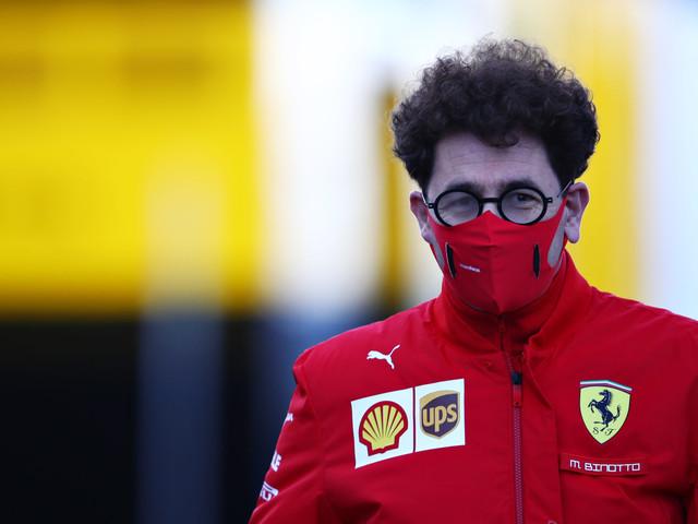 Ferrari Don't Expect Carlos Sainz To Be 100% From the Start: Mattia Binotto
