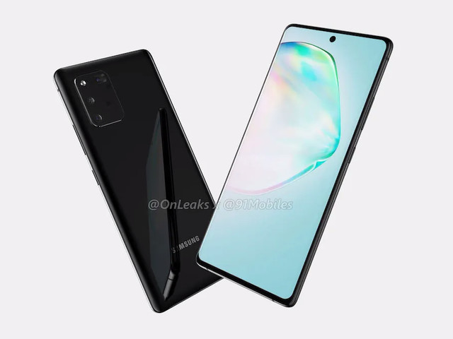 Galaxy Note10 Lite and S10 Lite appear in renders, may arrive at event this month