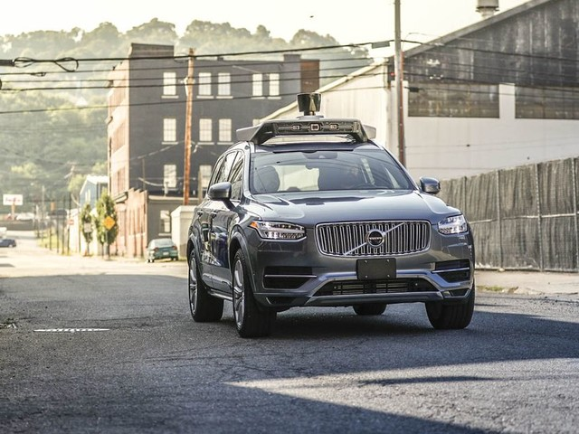 Uber's self-driving cars return to public roads for the first time since fatal crash