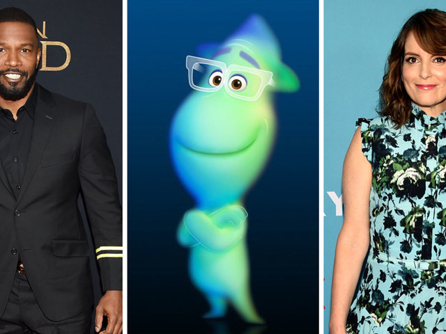 Pixar's 'Soul' cast includes Jamie Foxx & Tina Fey, Disney announces during D23 Expo