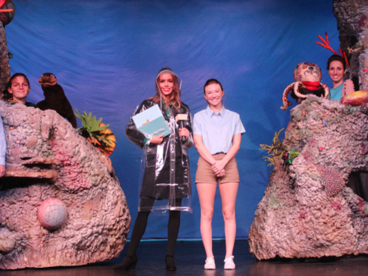 Science and art theatrical production ignites awareness of marine conservation
