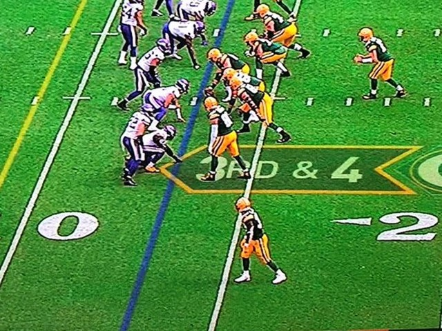 Why wasn't Aaron Rodgers called for multiple delay of game penalties Sunday?