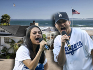 Mila Kunis and Ashton Kutcher just bought this $10M beach house — take a look inside