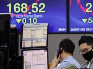 Asian shares sink on mounting worries over China outbreak