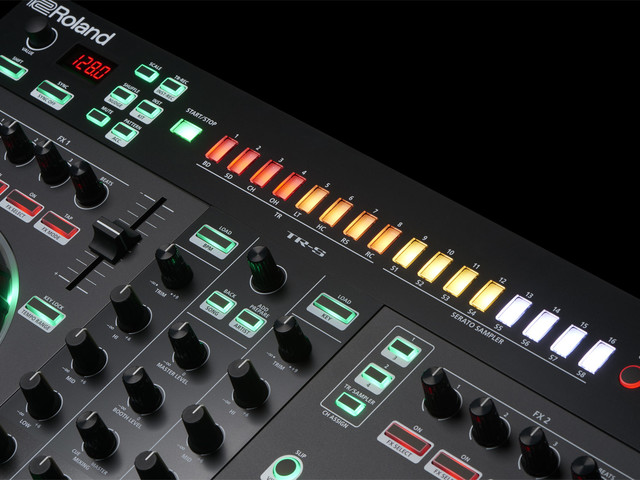Roland's DJ gear has a built-in TR drum machine; here's how to use it
