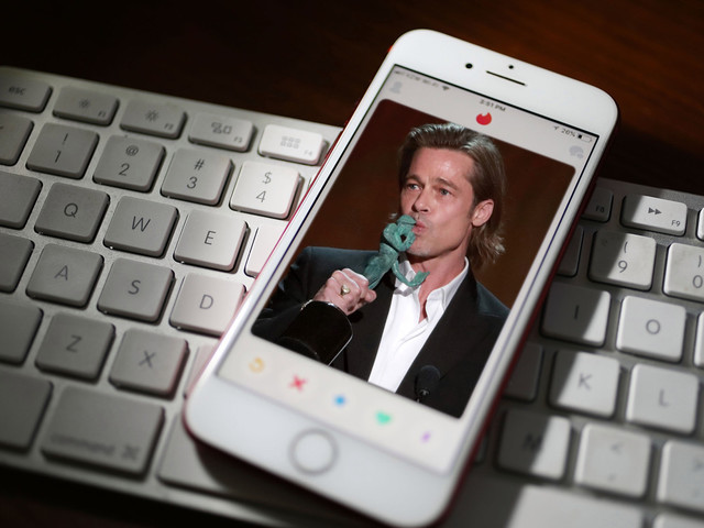 Brad Pitt: I'm not really on Tinder, 'it just sounded funny to me'
