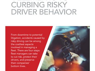 4 Elements to Curbing Risky Driver Behavior