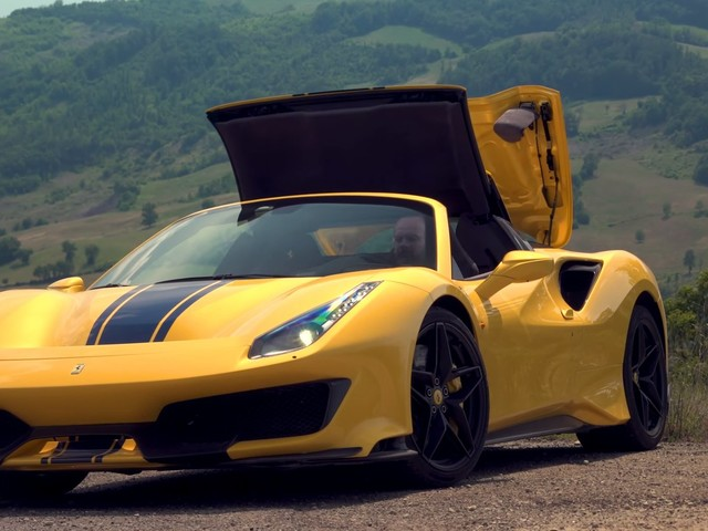Ferrari 488 Pista Spider Sets The Benchmark In Open-Top Supercars