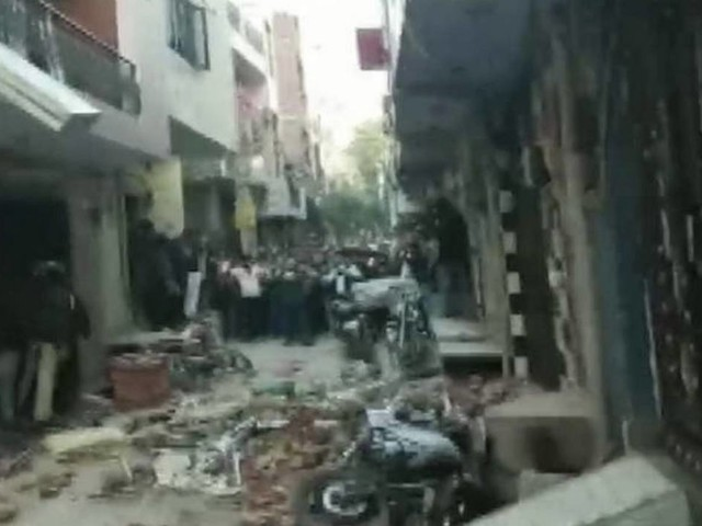 Building collapses in Indian capital, killing 5 people