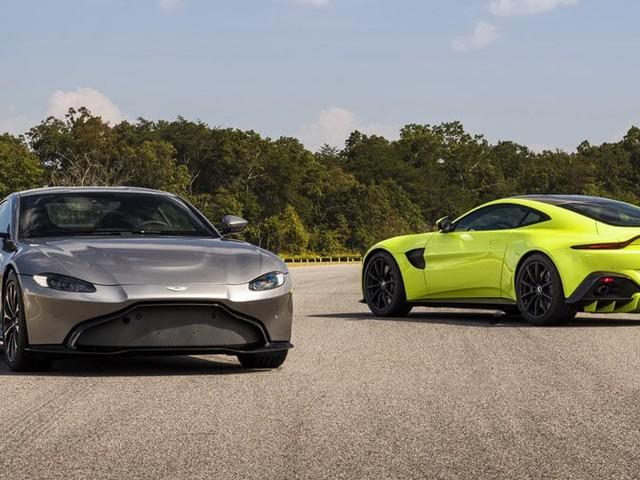 Aston Martin Actually Designed The New Vantage Before Bond's DB10