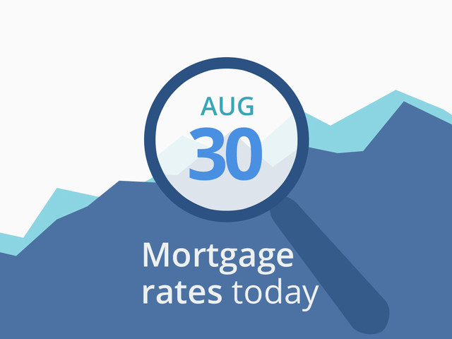 Mortgage rates today, August 30 2018, plus lock recommendations