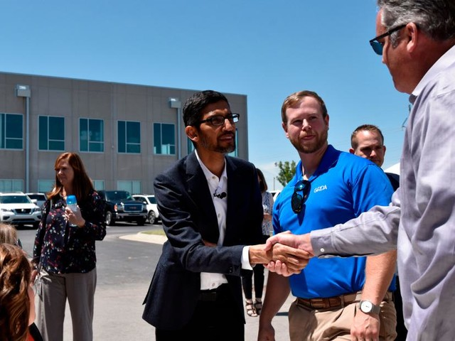 With political scrutiny mounting, Google goes on job creation tour