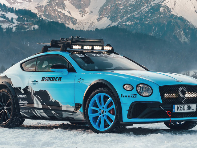 Bentley's Ice Race Continental GT Is A 626 HP Grip Monster