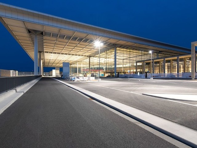Germany's deserted airport of the future