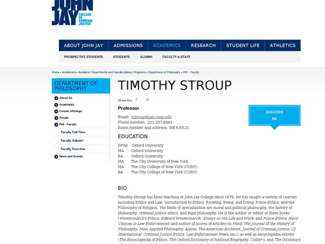 Timothy Stroup