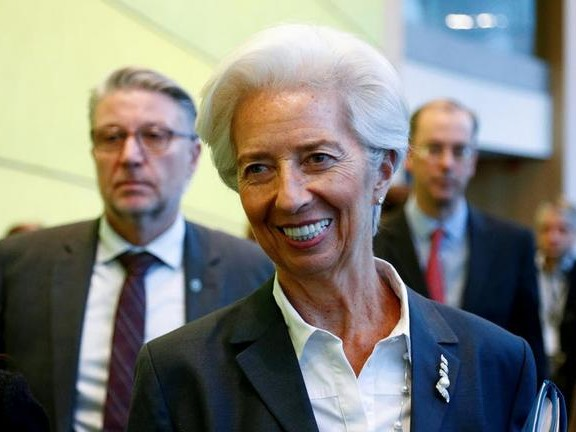 In Stuttering, Stumbling Address Christine Lagarde Vows To Link QE To Climate Change