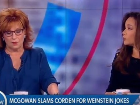 """The View"" Defends James Corden, Slams Mayim Bialik Amid Harvey Weinstein Controversy (VIDEO)"