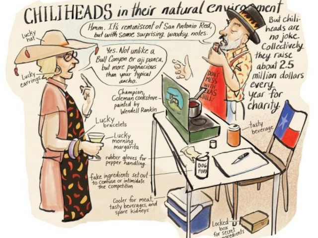 An Illustrated Look at the Terlingua Chili Cook-off