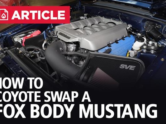 How To Coyote Swap A Fox Body Mustang