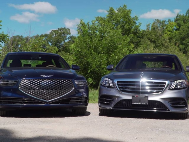 2020 Genesis G90 Vs. 2019 Mercedes S-Class: Underdog Takes On Top Dog