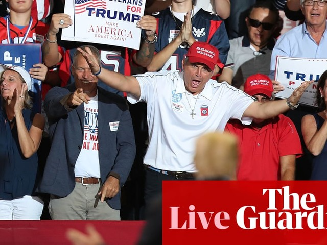 Trump's new election ad condemned as 'racist, false fearmongering' – midterms live