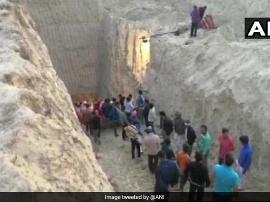 Rescue Operations On To Save Haryana Boy Trapped In Borewell Since 2 Days