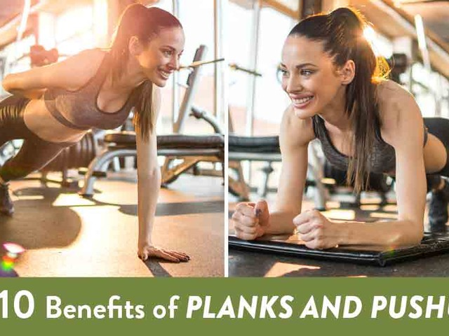 Top 10 Benefits of Planks and Pushups