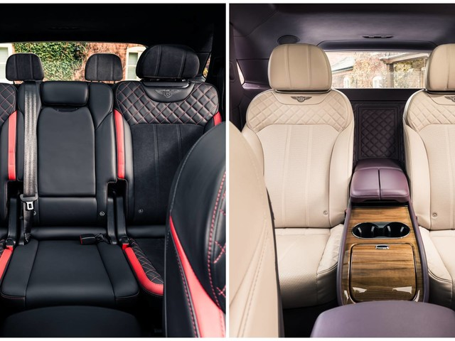 New Four- And Seven-Seat Options Enhance Bentley Bentayga's Versatility