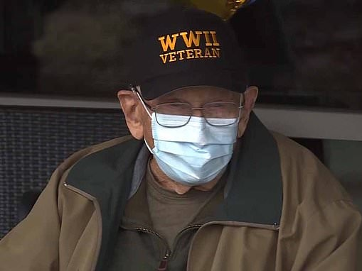 Oregon Spanish flu survivor and WWII vet, aged 104, becomes world's oldest person to beat Covid-19