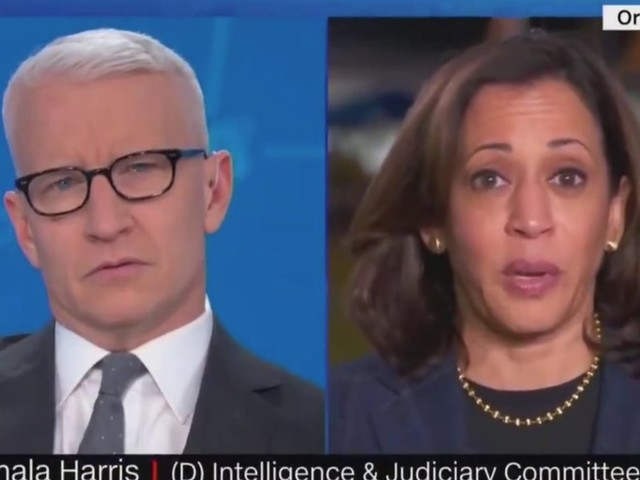 Kamala Harris claims Giuliani has 'clearly broken many laws' — but crumbles when confronted by Anderson Cooper