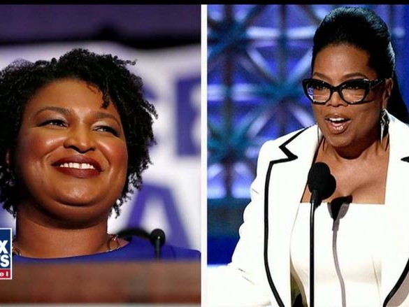 Oprah Winfrey, Barack Obama Campaign for Democrat Stacey Abrams in Georgia Governor's Race