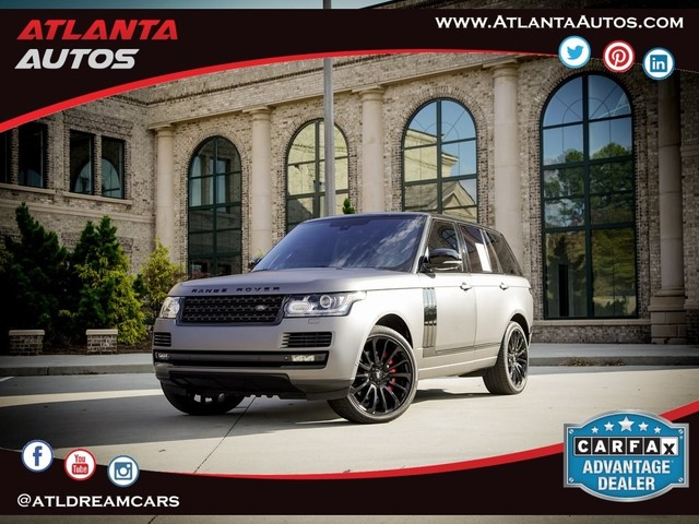 2014 Land-Rover Range--Rover 5.0L V8 Supercharged Autobiography