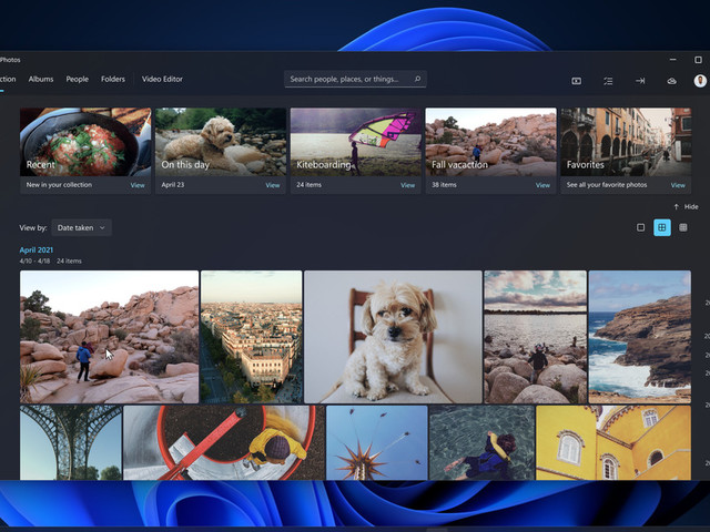 Microsoft's new photos app for Windows 11 is a welcome redesign