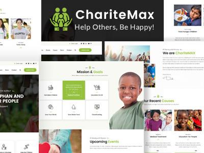 ChariteMax - Charity NonProfit HTML Template (Charity)