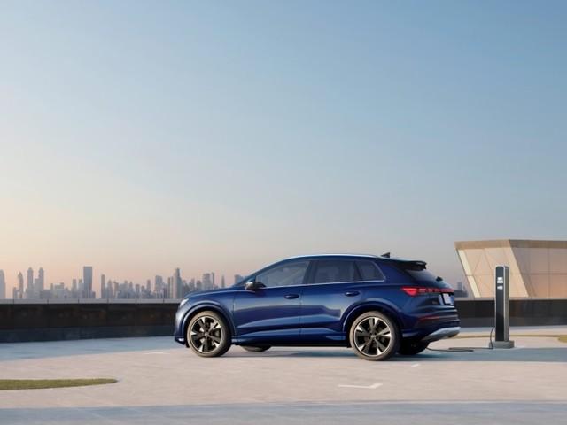 Audi Q4 e-tron: Progressive. Approachable. Premium Electric Mobility
