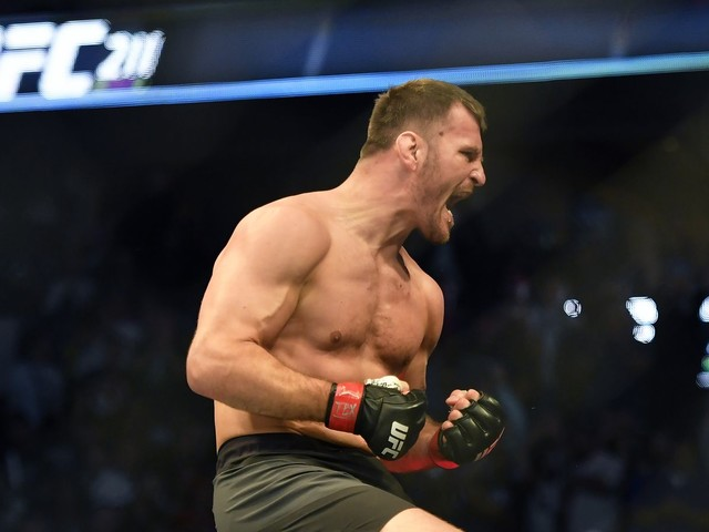 UFC champ Stipe Miocic fires back at Anthony Joshua: 'You aren't even the baddest man in the UK'