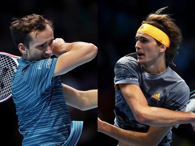 Alexander Zverev Blasts Past Daniil Medvedev to Deny Federer vs Nadal at ATP World Tour Finals 2019