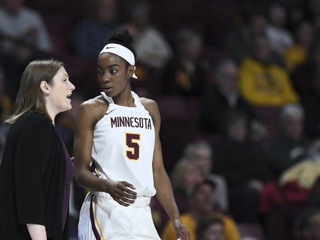 Cold-shooting Gophers women's basketball remains in slide in loss to Indiana
