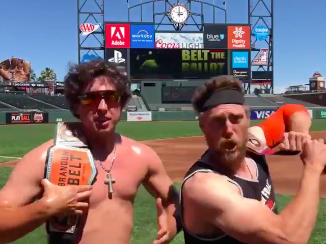 Mound Visits: Derek Holland and Hunter Pence should wrestle at SummerSlam