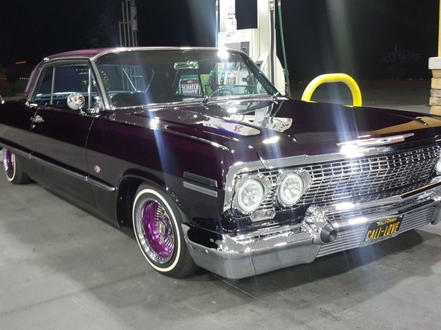 Lowriders featured at this year's 24th-annual Gilmore Heritage Auto Show