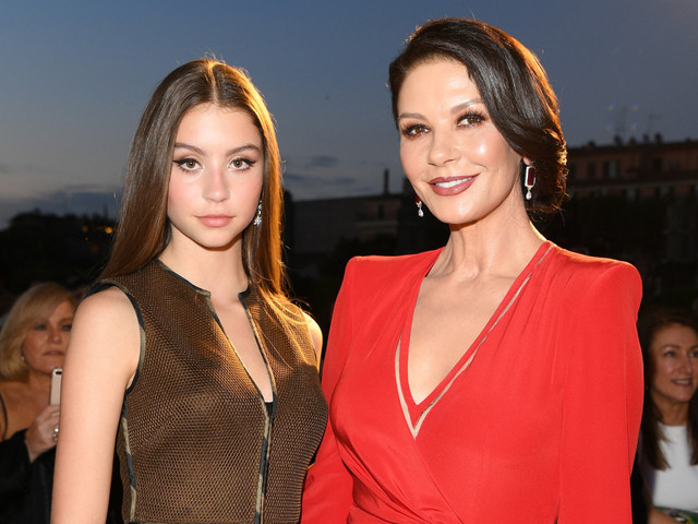 Catherine Zeta-Jones celebrates daughter's 18th birthday with swimsuit photo