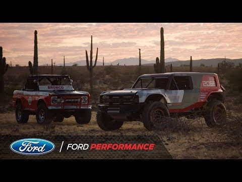 This Just In: Ford Debuts Bronco R Race Prototype