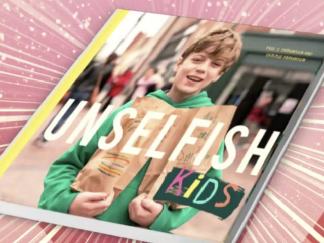 Video: 'Unselfish Kids' highlights good deeds of children working together to bring more light to the world
