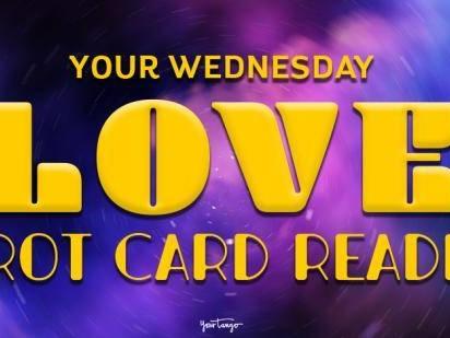 Today's Love Horoscopes + Tarot Card Readings For All Zodiac Signs On Wednesday, January 8, 2020