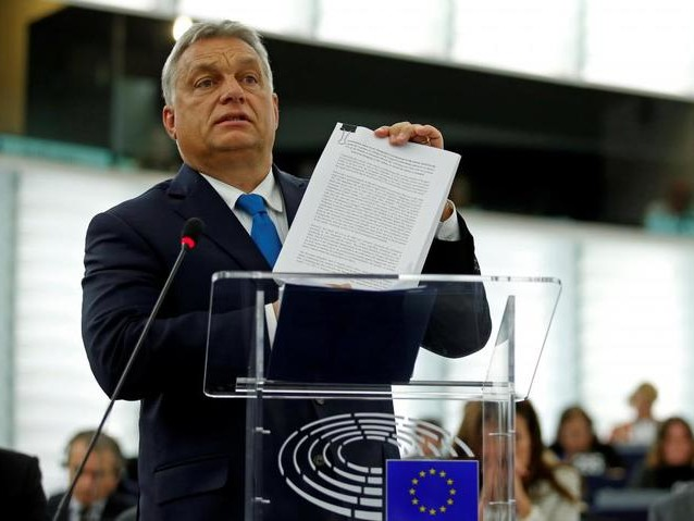 """Hungary's Orban Slapped With Unprecedented EU Censure Over Claims Of """"Authoritarian Rule"""""""
