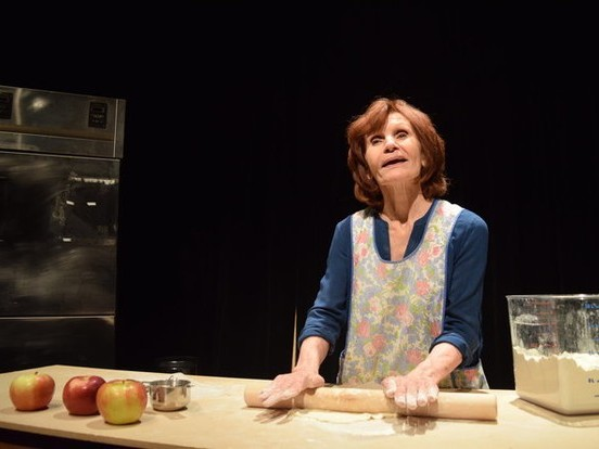A one-women show about addiction and its tragic consequences