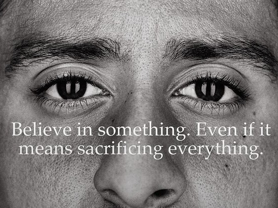"""Colin Kaepernick Is The Face Of Nike's 30th Anniversary """"Just Do It"""" Campaign"""