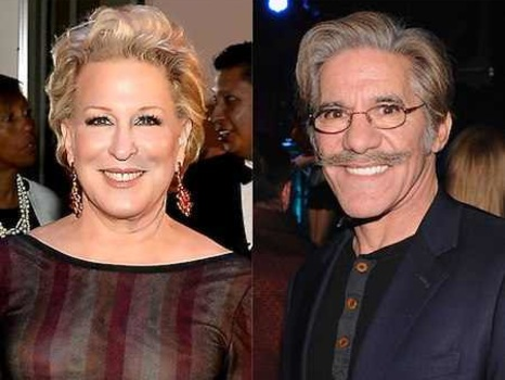 Geraldo Rivera Apologizes to Bette Midler for Alleged Groping