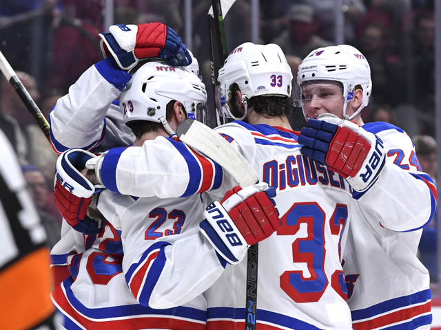 Surging Rangers rip Canadiens thanks to five-goal outburst